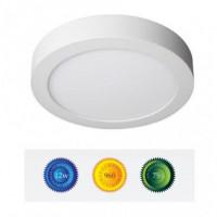 Downlight led superficie redondo 12W luz blanca
