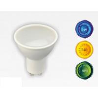 Bombilla led GU10 6W luz blanca