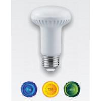 Bombilla led R63 E27 8W luz blanca