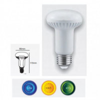 Bombilla led R80 E27 12W luz blanca