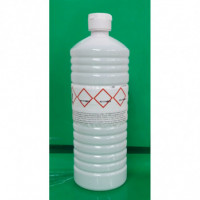 Alcohol isopropílico al 99% en bote de 1 litro.