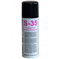 Spray limpiador desinfectante para TV e informática S-35.