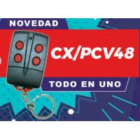 Mando garaje universal cxpcv48 multifrecuencia con programación para cada marca