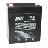 Bateria plomo 12V 4
